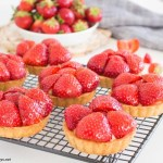 Swedish Strawberry & Elderflower Tartlets