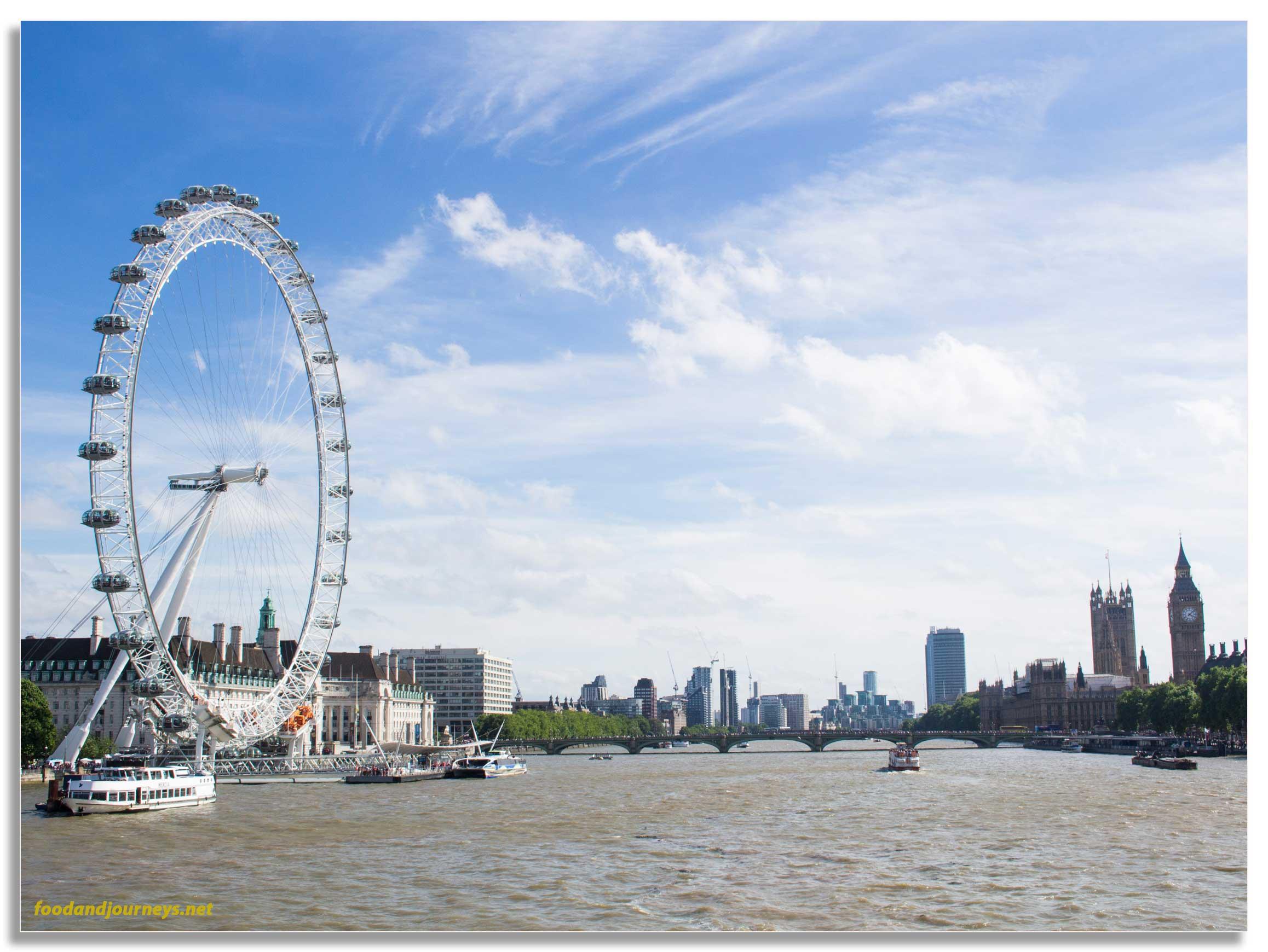 Millenium Wheel London|foodandjourneys.net