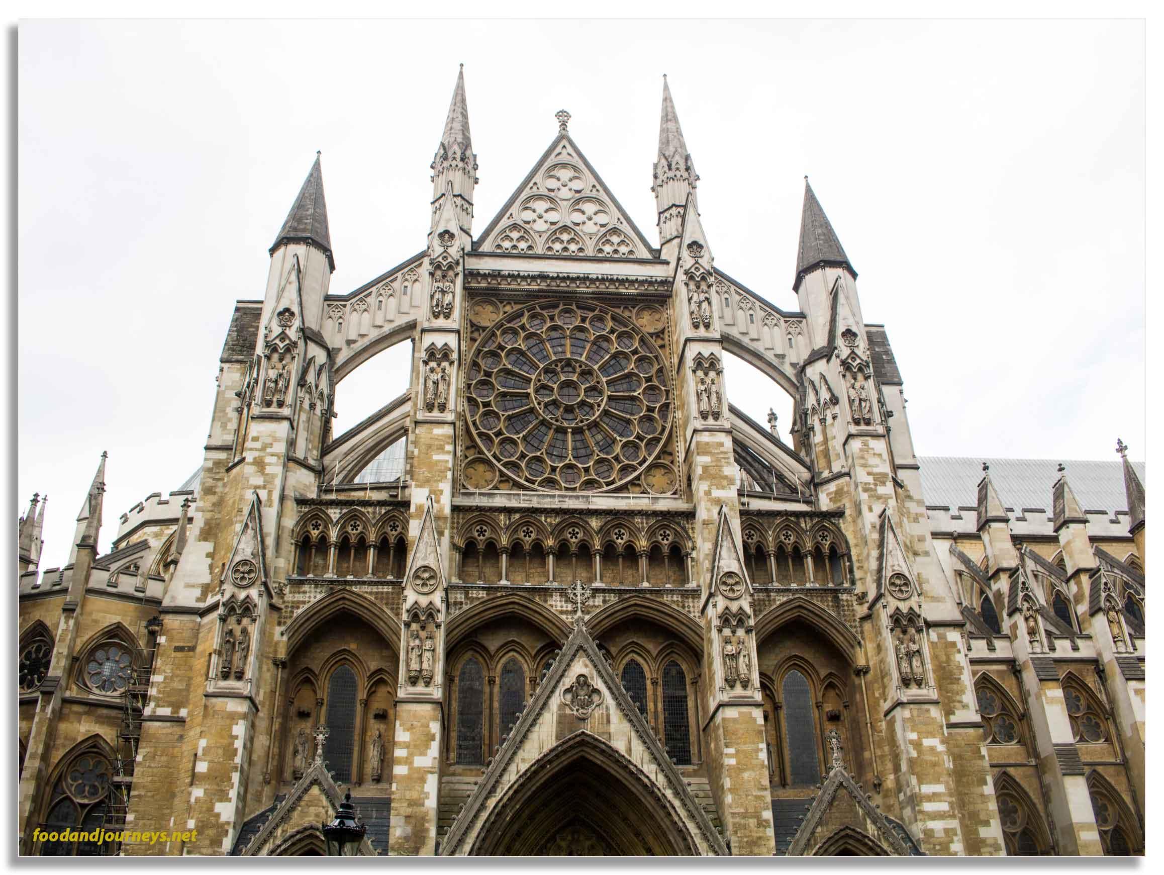Westminster Abbey London|foodandjourneys.net
