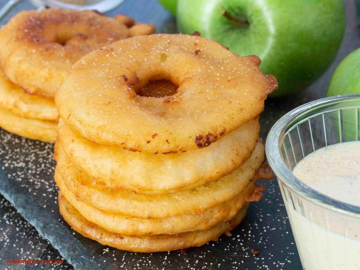 German Apple Fritters (Apfelküchle)