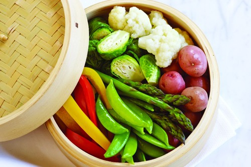 Bamboo steamers steamed food made fabulous food nutrition magazine forumfinder Choice Image