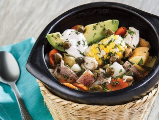 Rustic Chicken and Beef Stew