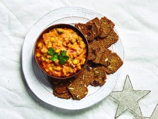 Chipotle Corn White Bean Dip