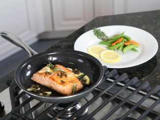 Ceramic Skillet Cooks without Much (If Any) Fat | Food & Nutrition | Stone Soup