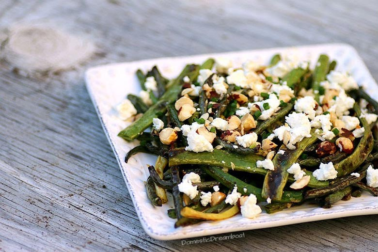 Lemony Roasted Green Beans   Food & Nutrition   Stone Soup