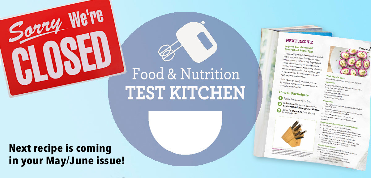 F&N Test Kitchen is closed message