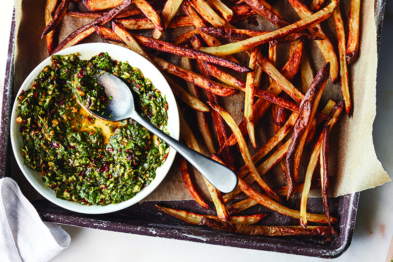 Cilantro Chimichurri Fries