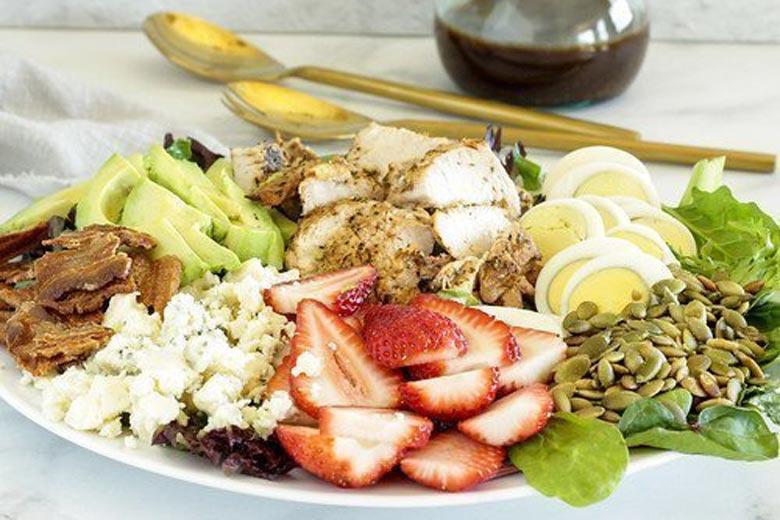 Cobb Salad with Balsamic Honey Mustard Vinaigrette | Food & Nutrition | Stone Soup