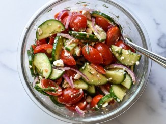 Cucumber Tomato Salad | Food & Nutrition | Stone Soup