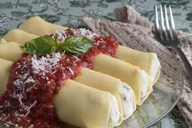 Easter Means Homemade Manicotti