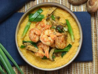 Healthy Shrimp and Grits | Food & Nutrition | Stone Soup