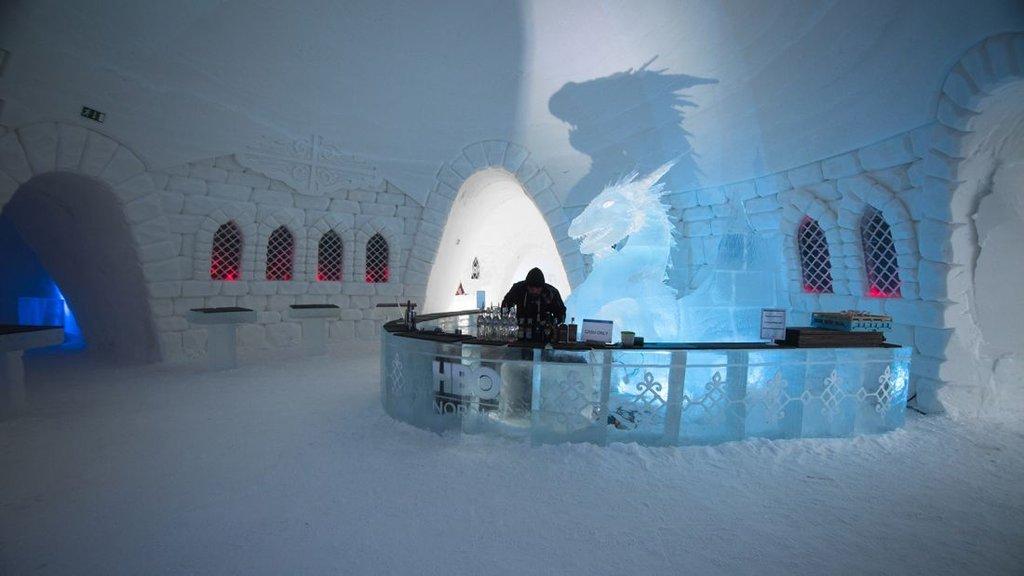El hotel de Game of Thrones te dejará (literalmente) helado