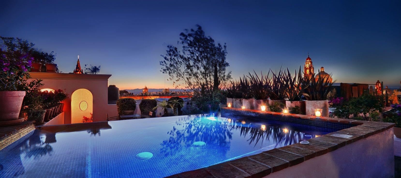 Los 8 hoteles más románticos de San Miguel de Allende