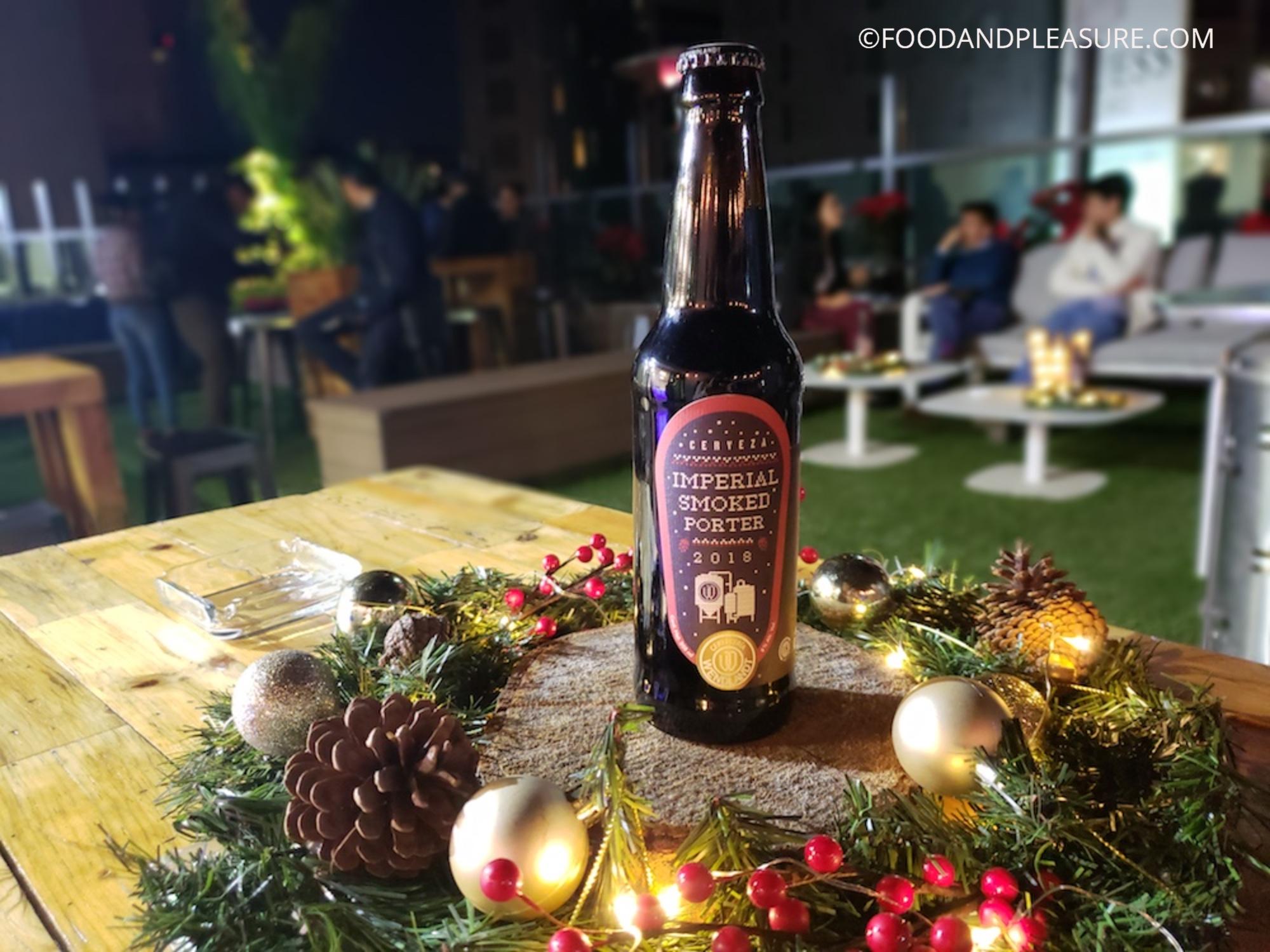 Imperial Smoked Porter: la cerveza especial de invierno que sabe a 'Navidad'