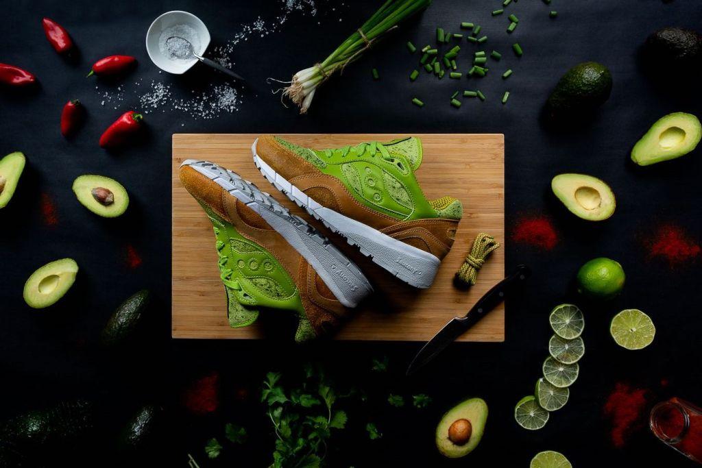 'Saucamole': los sneakers inspirados en el 'avocado toast'