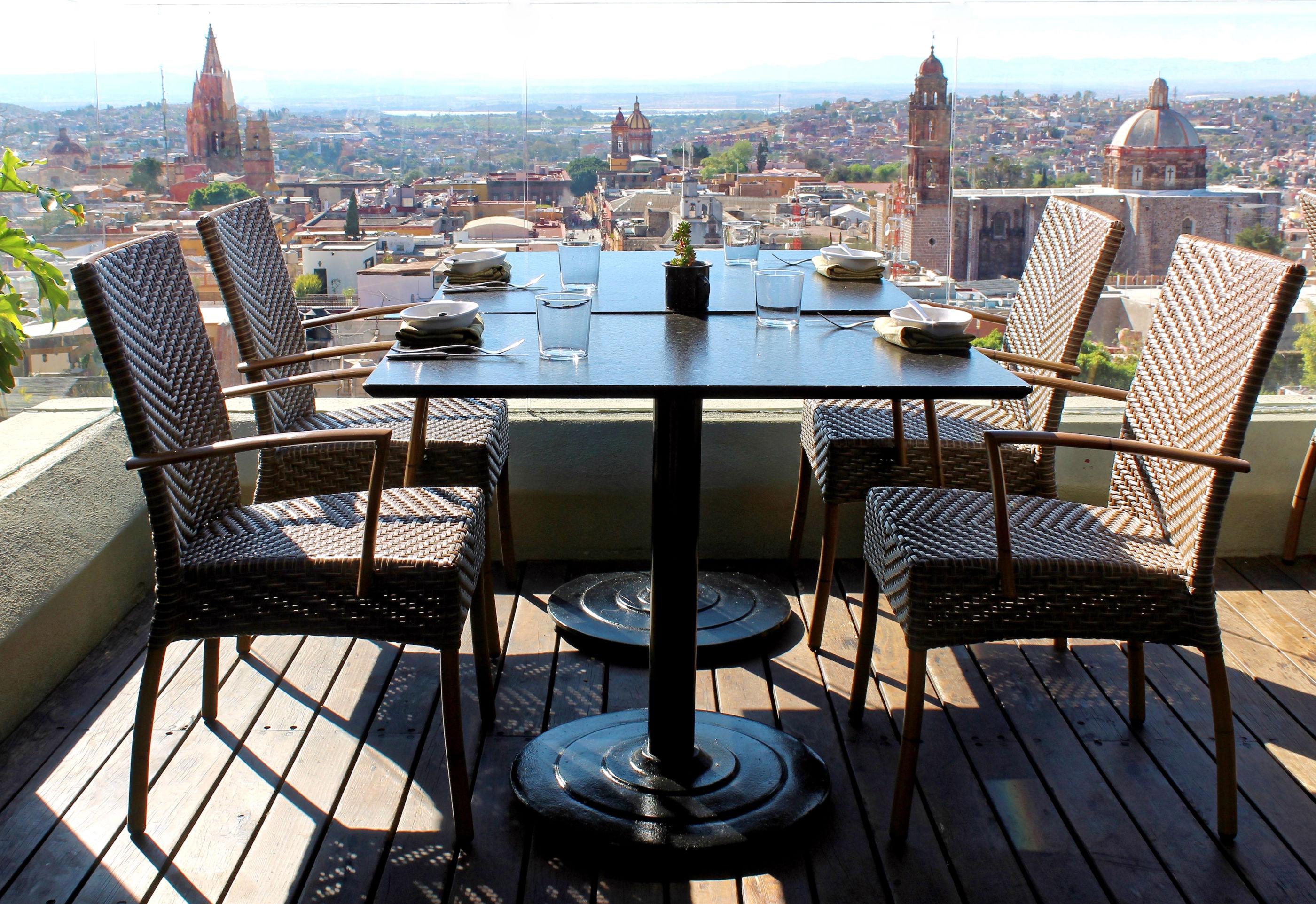 6 de los restaurantes más bonitos en San Miguel de Allende