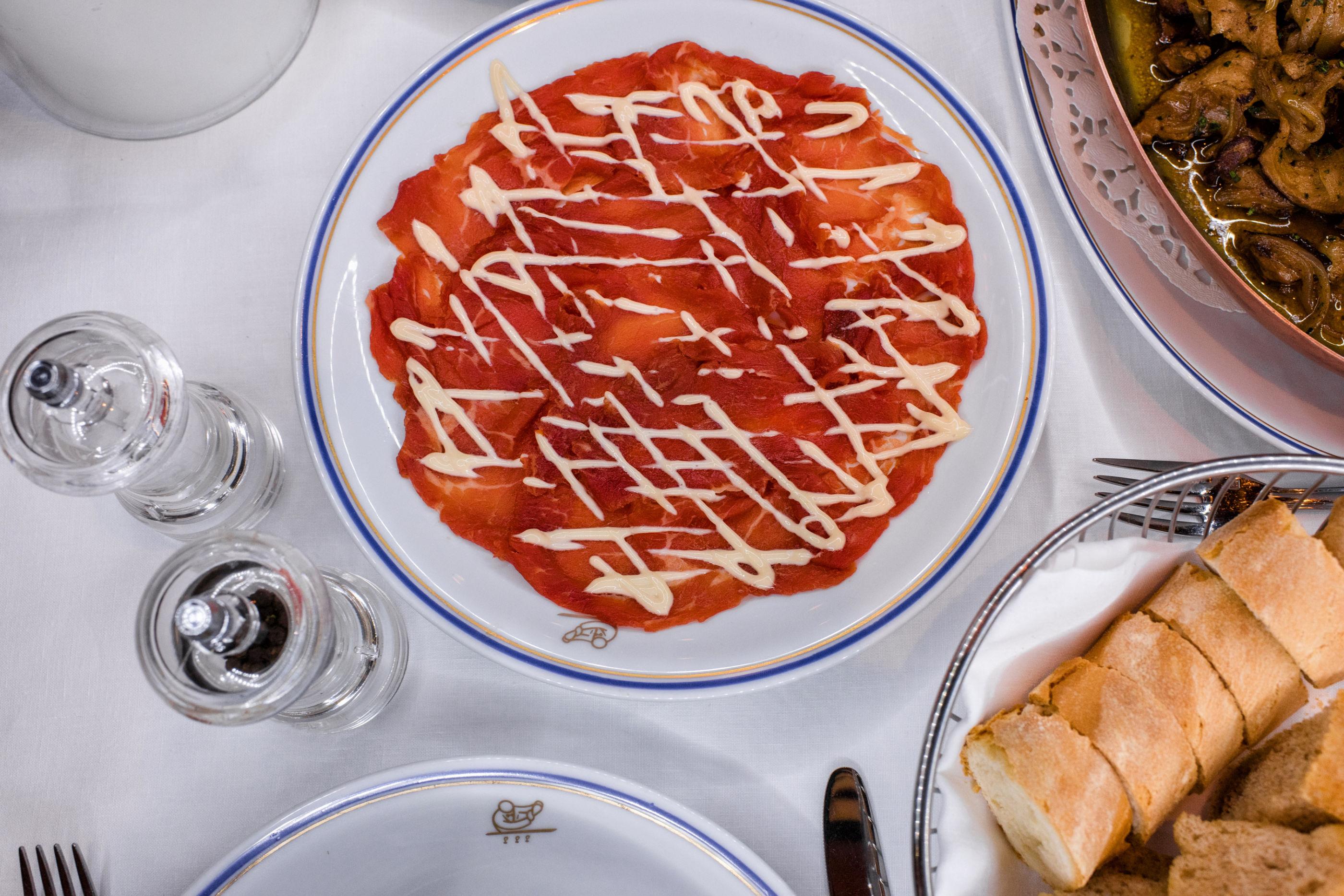 7 restaurantes para adictos al carpaccio en la CDMX