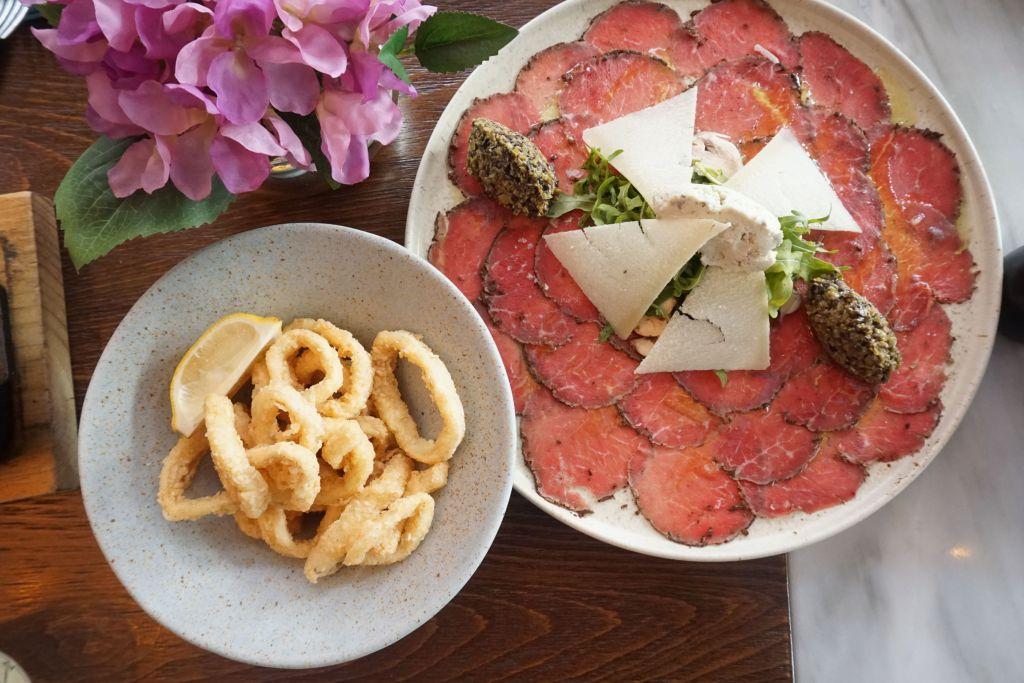 Piacevole, sabores italianos perfectos para compartir en pleno Santa Fe
