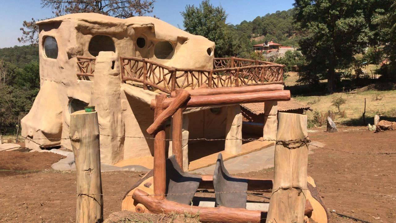 Esta cabaña en México te permite vivir una experiencia al estilo de Los Picapiedra
