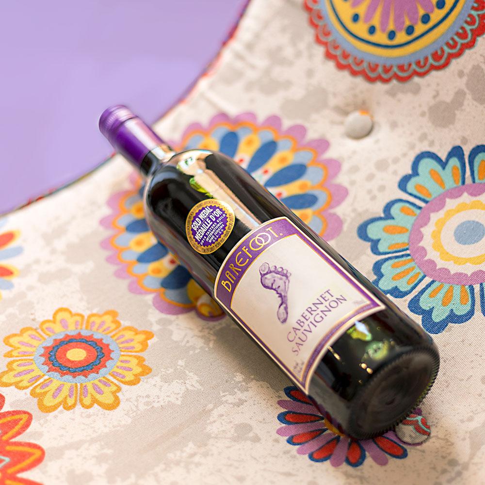 #DejatuHuella con vinos Barefoot y haz el bien, mientras la pasas bien