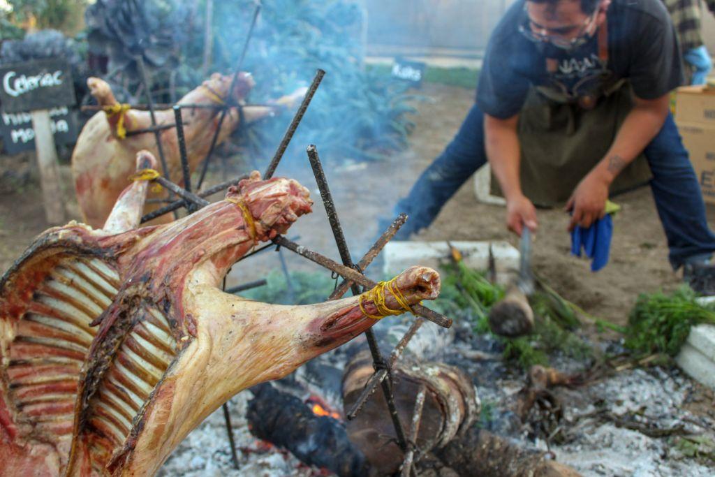 Cactilia, Harina y Sal, y NA'AN Cocina Estacional se unen en una cena orgánica en el huerto de Cholula