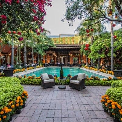 8 de los restaurantes al aire libre en Querétaro más bonitos y románticos