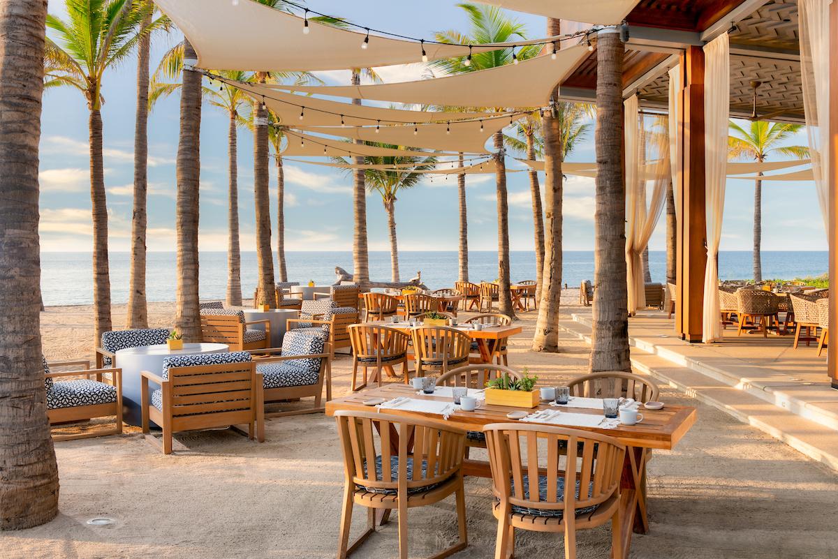 8 de los restaurantes en la playa más lindos de México