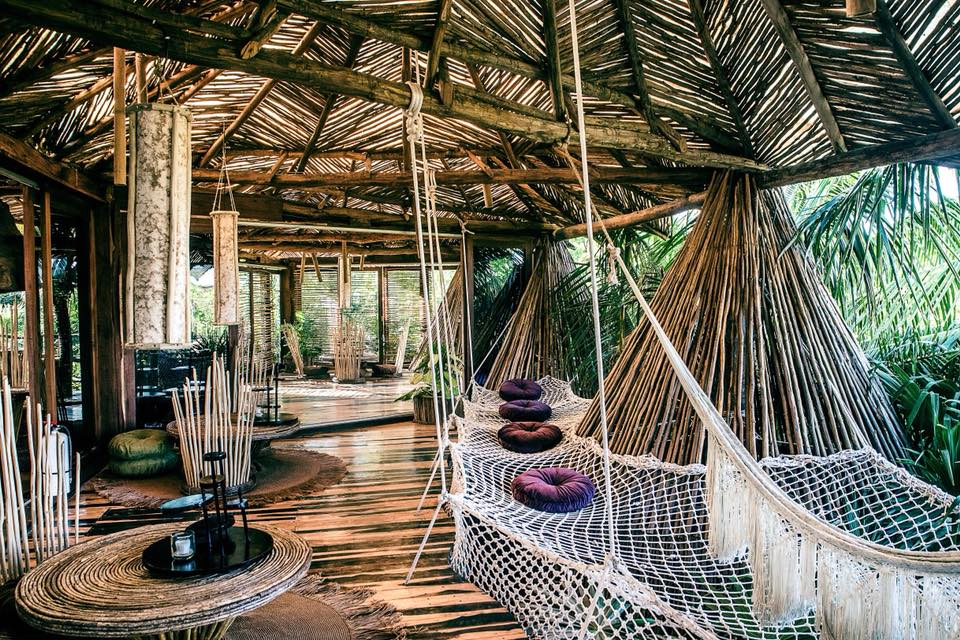 Estos hoteles en México tienen redes para acostarse y disfrutar de una copa
