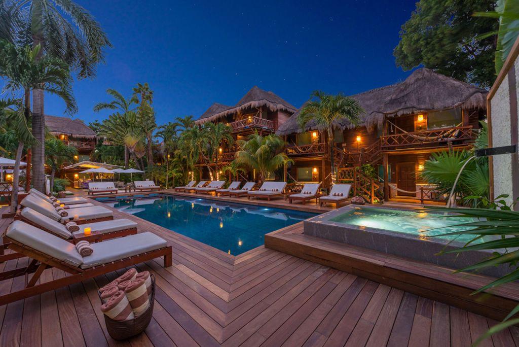 7 'hotelitos' boutique bonitos y románticos en Playa del Carmen