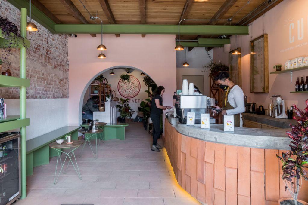 Este 'cafecito' de la Roma se está convirtiendo en el 'spot' favorito de los cazadores de rincones instagrameables