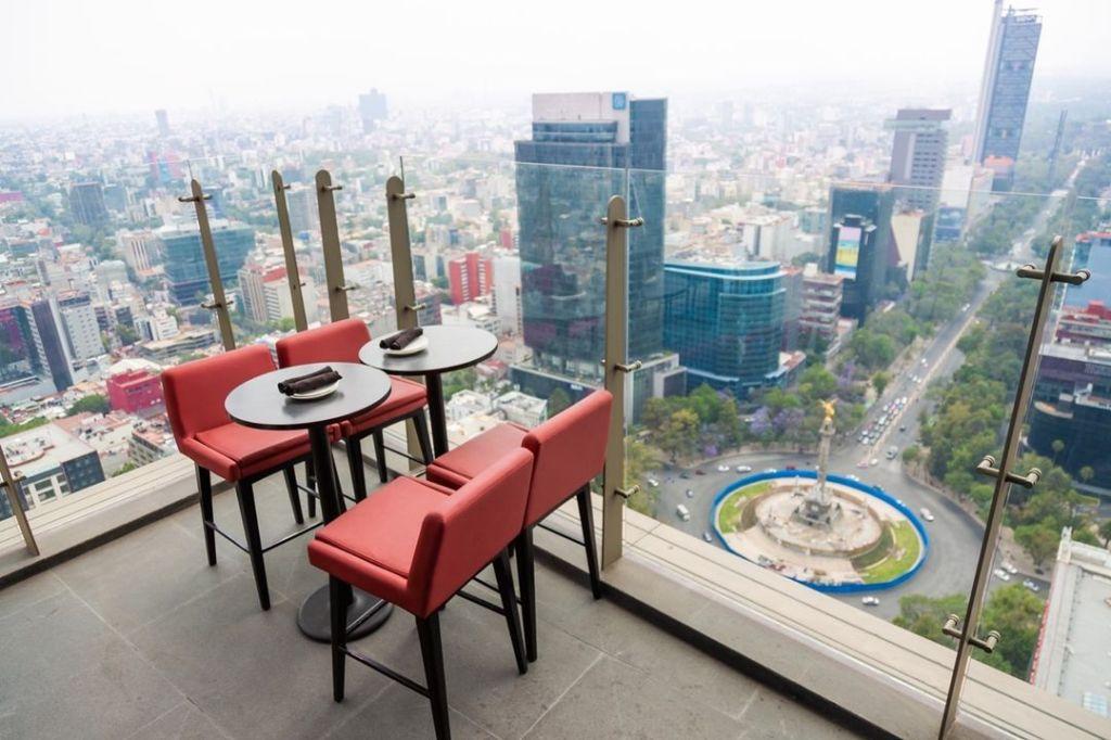 8 restaurantes ubicados en los edificios más altos de la CDMX