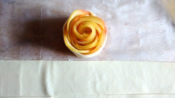apple roses food and quote