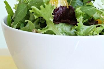 Everyday leafy green salad
