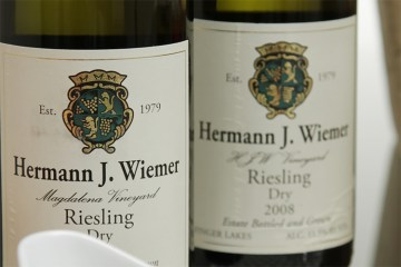 Hermann J. Wiemer HJW and Magdalena Vineyard dry Rieslings