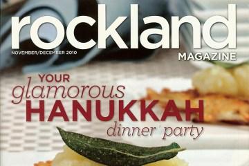 Rockland Magazine Cover - Hanukkah
