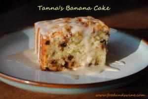 Tanna's Banana Cake