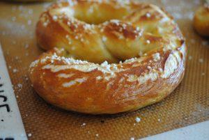 ballpark style soft pretzels