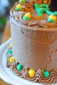 Tallest Chocolate Cake
