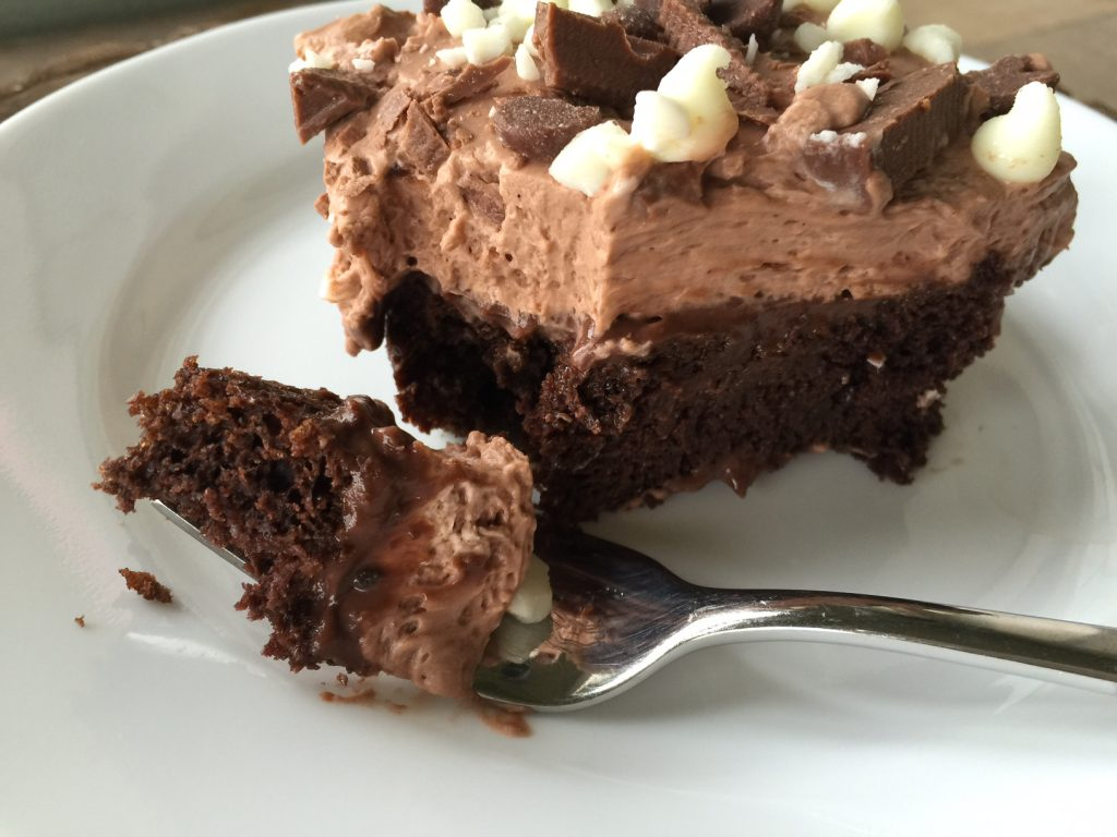 Chocolate Mousse Cake Slice Chocolate Mousse Puddi...