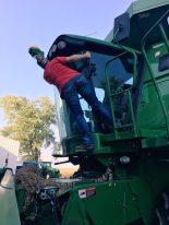 grain cart cleaner
