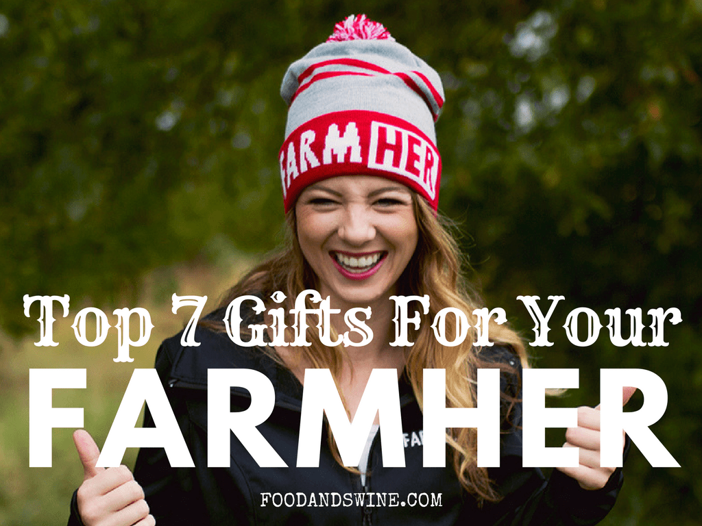 6eca6a3d Cut through the Christmas clutter and buy something festive for your  FarmHer this year that she will really enjoy! I know the chaotic voices on  television ...