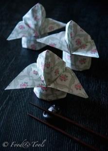 Flower Bud Napkin Fold