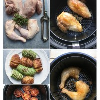 Cooking with a Swan Air Fryer