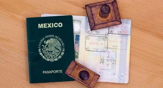 Resultado de imagen para pasaporte mexicano