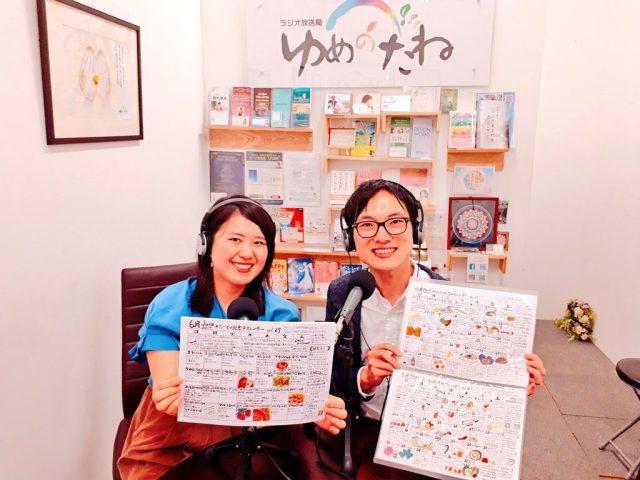 ラジオ番組「笑顔の港」にたべもの記念日研究家吉原潤一がゲスト出演!