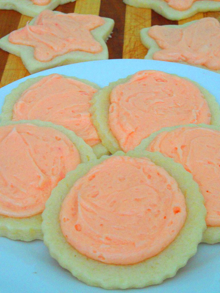cream cheese sugar cookies (3) - food apparel