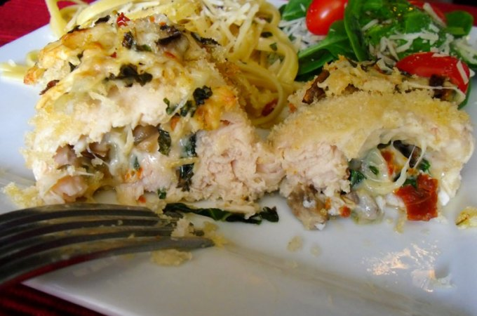 Stuffed Italian Chicken at FoodApparel.com