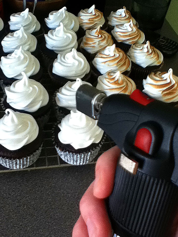 S'mores Cupcakes on FoodApparel.com