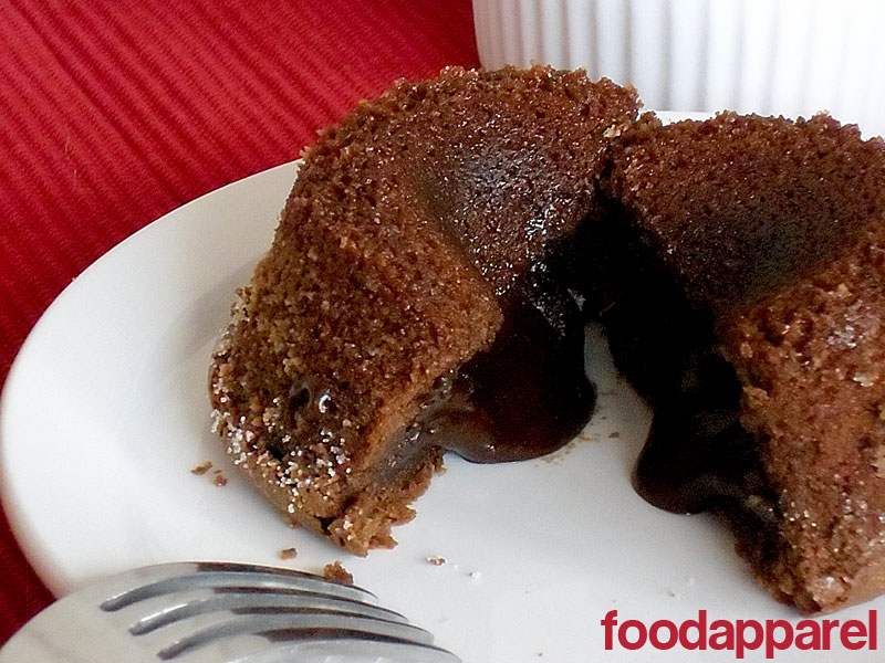 Molten Chocolate Cake at FoodApparel.com