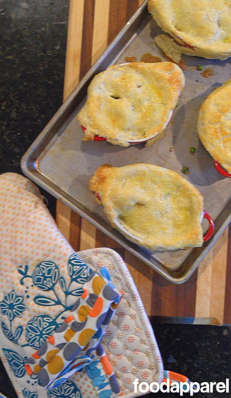 Easy Chicken or Turkey Pot Pie at FoodApparel.com